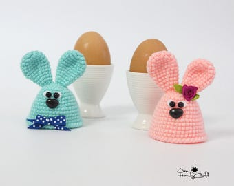Easter bunny Egg cozy Easter gift Egg warmers Easter decorations Easter egg hat Easter table decor Kitchen decor Egg cosy Easter egg cover