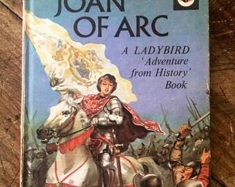 Joan of Arc,  ladybird, ladybug, french history, religious history, saints, kitsch book,religious, catholic book