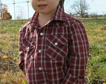 Boy's Custom Western Shirts / Custom Boy's Clothing