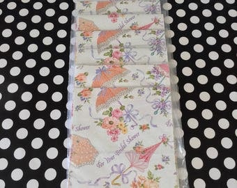 Bridal Beauty~Bridal Shower Gift Wrap~Vintage Bridal Shower~Wrapping Paper