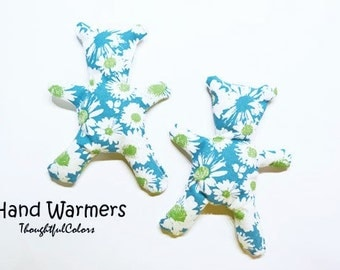 Hand Warmers / Cold Pack / rice heat pack / Ouch Pack / microwave heat pack / Reuse / Flower Pattern / Made to Order