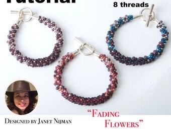 Kumihimo bracelet pattern 8 strands