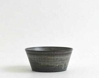 Trapezoid Lined Bowl (Blue black) , Koji Kitaoka (15005707-T-MLB)