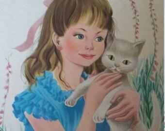 Book child vintage/Alice in the Wonderland / Casterman 1953