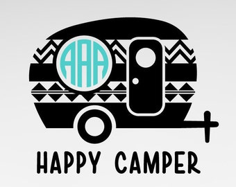 Brilliant Camper Trailer Silhouette Tattered Lace Dies