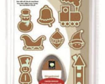 Cricut Cartridges -Gingerbread Used Cartridges