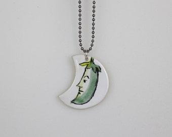 Zucchini Pendant + chain