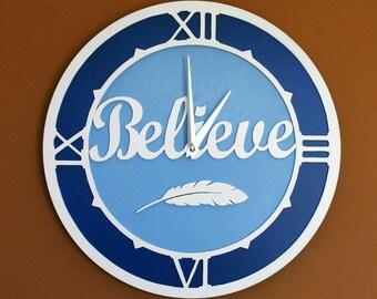 """Wall Clock - 'Believe' (12"""")"""