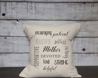 Mother Pillow Cover