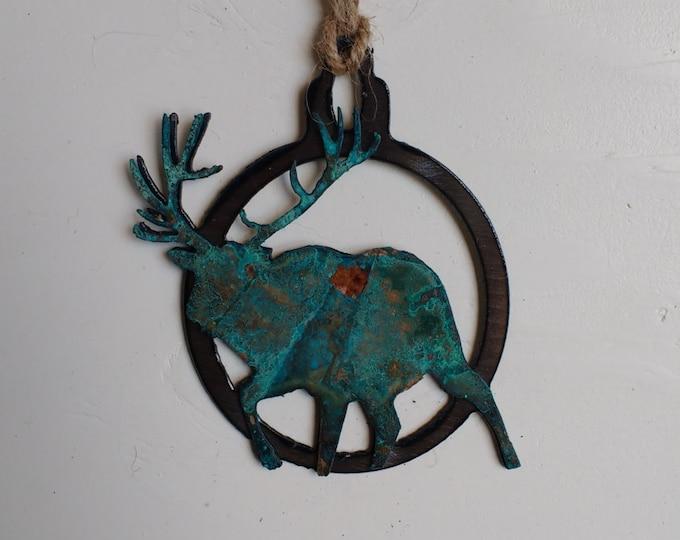Patina Bull Elk