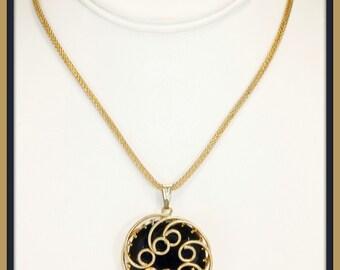 Vintage Rhinestone Necklace, Vintage Kramer Necklace, Vintage Necklace, Retro Kramer Necklace, Vintage Kramer Jewelry, Retro Jewelry