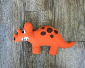 Doug the dinosoar, dinosoar Plushie, dinosoar stuffed toy.