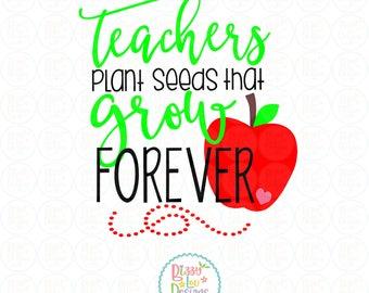 Teacher Svg, Dxf, eps, png, cut file because teach svg design teacher appreciation design teach svg teach quotes teacher cut file
