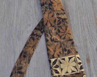 Vintage silk tie DANIEL HECHTER 148X9.5