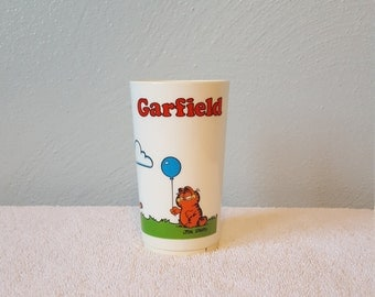 1978 Garfield with Balloons Juice Cup