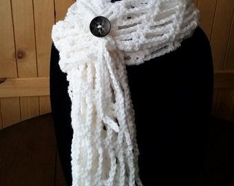 Crochet Infinity Chain Scarf