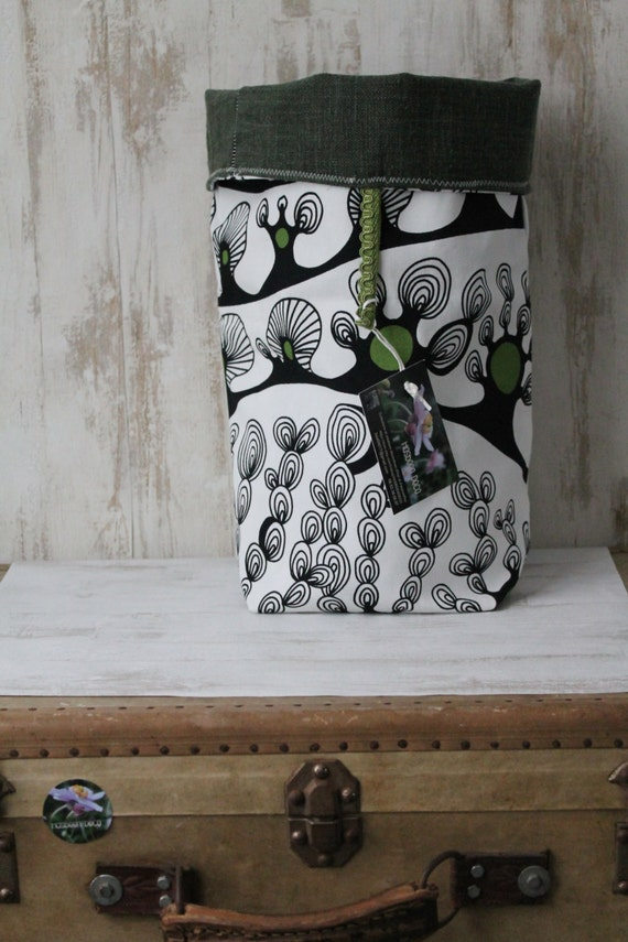 panier linge corbeille chaussettes sac double face. Black Bedroom Furniture Sets. Home Design Ideas