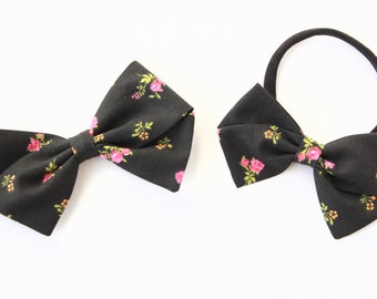 baby bow, toddler, baby girl, fabric bow, nylon headband or clip, newborn bows, baby shower gift