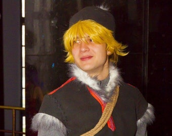 Kristoff Frozen Disney winter male cosplay