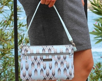 Denver Double Zip Bag - PDF Sewing Pattern - Handbag