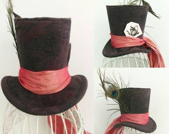 Mad Hatter mini top hat
