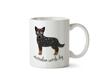 Australian Cattle Dog Mug (girl)