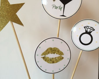 Wedding or Bridal Party Table Centerpieces