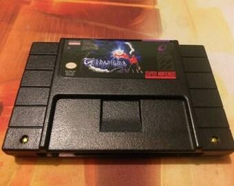 Terranigma - Super Nintendo SNES - Repro English Translation - Reproduction