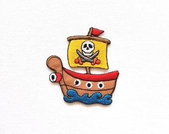 Pirate ship  patch