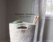 Crochet pattern // Project tote // Instant download
