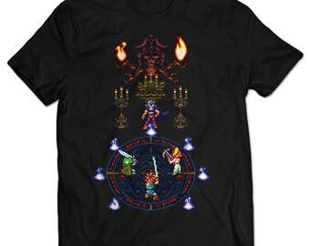 Chrono Trigger Magus Battle T-shirt