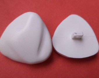 10 white buttons 19mm (3350) button jacket buttons