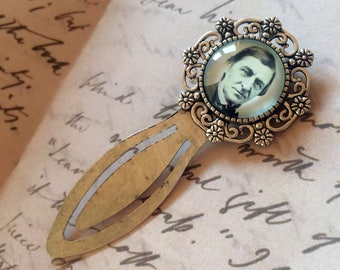 Ralph Waldo Emerson Bookmark - Ralph Waldo Emerson Gift, Philosophy Bookmark, Vintage Gift for Philosopher, Transcendentalism Bookmark