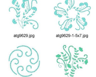 Summer-Night-Inspiration ( 15 Machine Embroidery Designs from ATW ) XYZ17E
