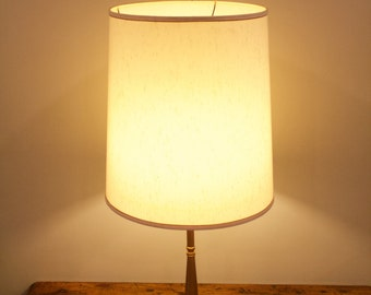 Midcentury gold lamp
