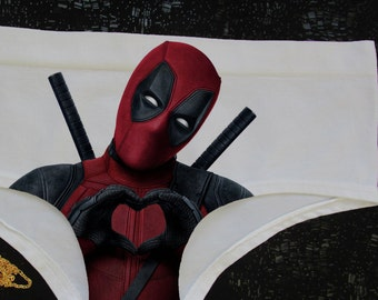 Deadpool,Underwear Deadpool ,panties Deadpool,lingerie Deadpool ,funny underwear,cute panties,sexy panties, Deadpool Gift,Erotic Lingerie,