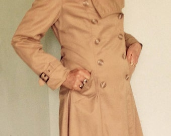 KHAKI TRENCH COAT mint vintage