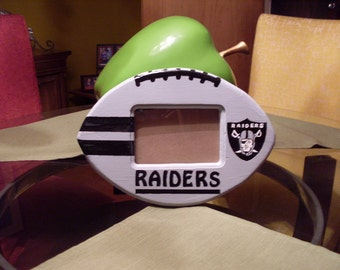 Raiders picture frame