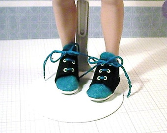 Lammily doll clothes/shoes: High top tennis shoes/sneakers/shoes