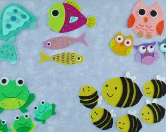 Felt Board Sets / Felt Board Stories/ Felt Song / Preschool / Teacher Gift / Over in the Meadow