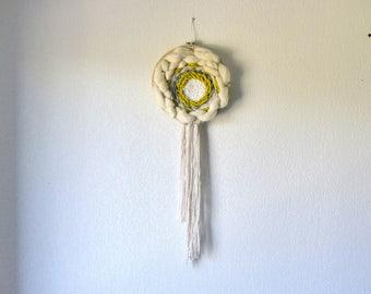 Circular weaving / dream catcher