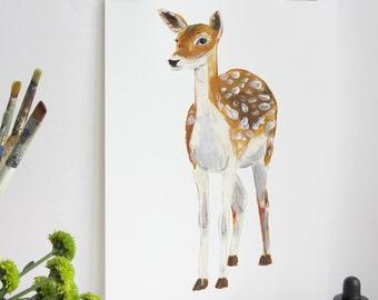 British Countryside - Fallow Deer Print