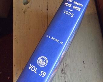 west virginia blue book-j.c. dillon 1975 vol. 59