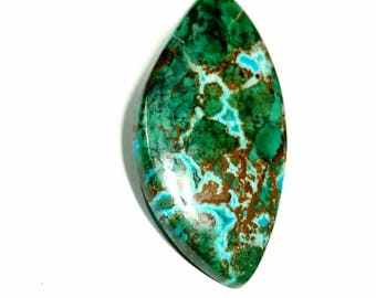 Chrysocolla with Azurite cabochon best quality 9.24 gm GM 337