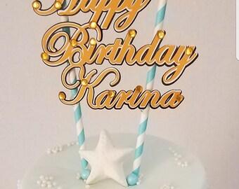 Birthday Cake Topper 21st Birthday