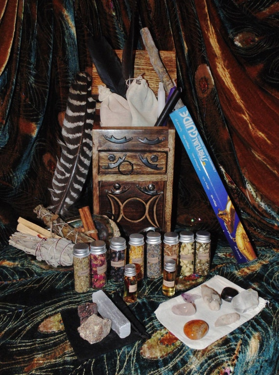 Witches Apothecary Cabinet - Sanfranciscolife