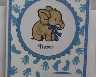 Baby Shower Card, Boy Baby Shower Card