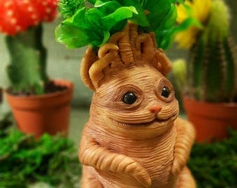 Harry Potter Mandrake Root Doll, Harry Potter gift, Hogwarts Art