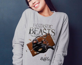 Fantastic Beasts and where to find them Raglan sweatshirt J.k Rowling hogwarts collection 2017