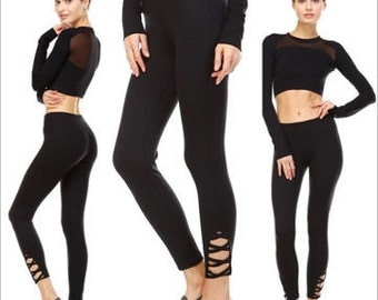 Criss Cross Balance Leggings